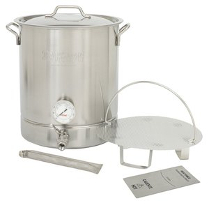Bayou Classic 800-410, 10-gal Stainless Steel