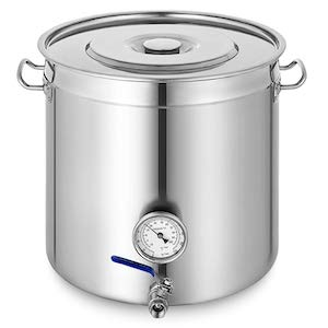 Mophorn Kettle Stockpot Stainless Steel 12.5Gal