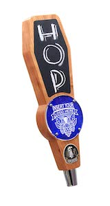 Beer Tap Handle With Chalkboard and Changeable Logo