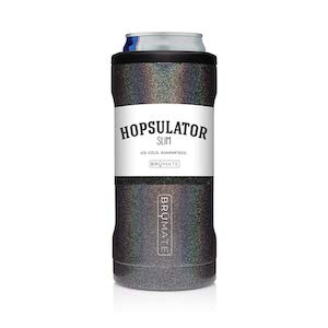 BrüMate HS12GB Hopsulator Slim, Glitter Charcoal One Size