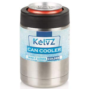 KelvZ Insulated Stainless Can Cooler Beer Holder