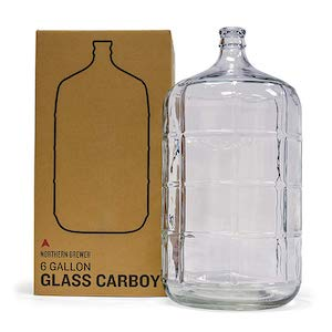 Northern Brewer - 6 Gallons Glass Carboy Fermente