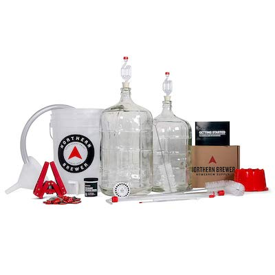 Northern Brewer Deluxe Home Brewing Equipment Starter Kit
