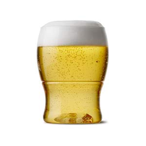 TOSSWARE 7oz Pint Mini- recyclable beer plastic cup