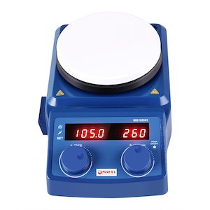 Four Es 5 Inch LED Digital Hotplate Magnetic Stirrer