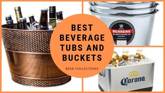 beer ice buckets an